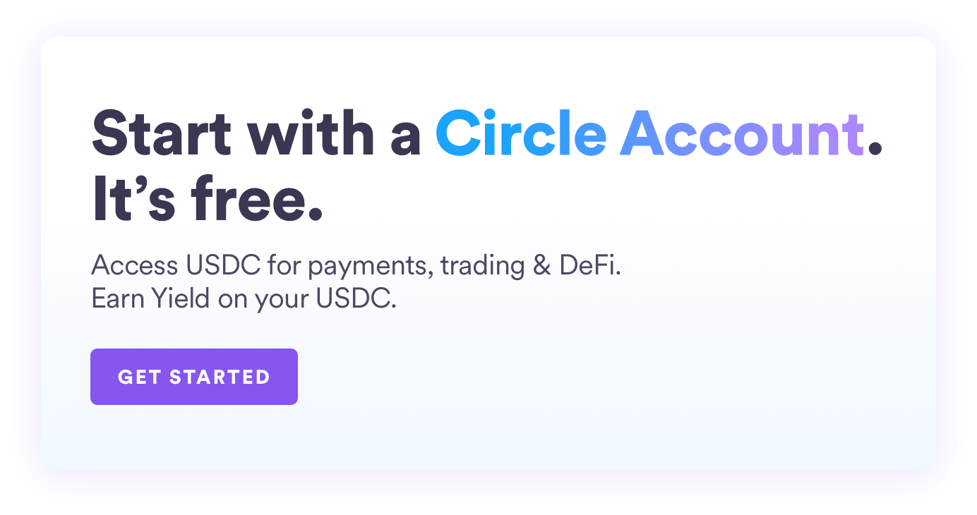 Start with a Circle Account. It's free.