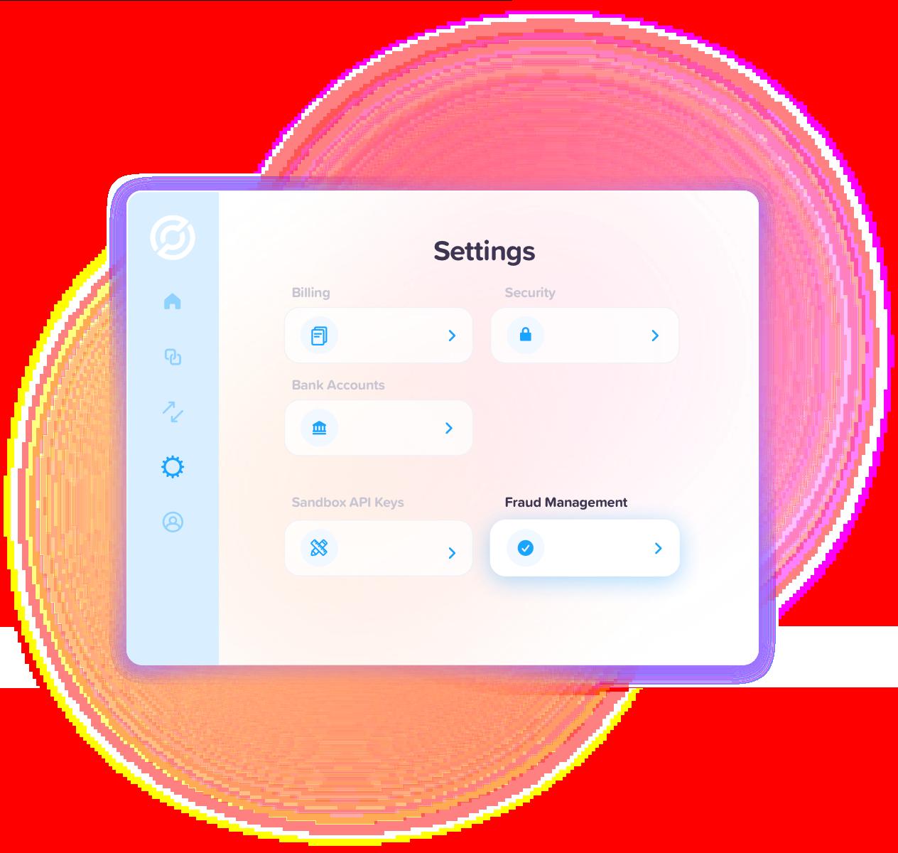 Circle Account Settings screen