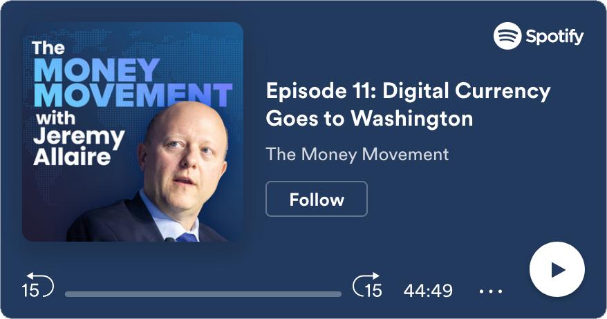 ICYMI: Digital Currency Goes to Washington