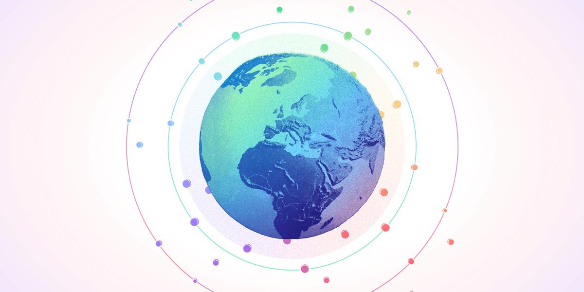 USDC-globe