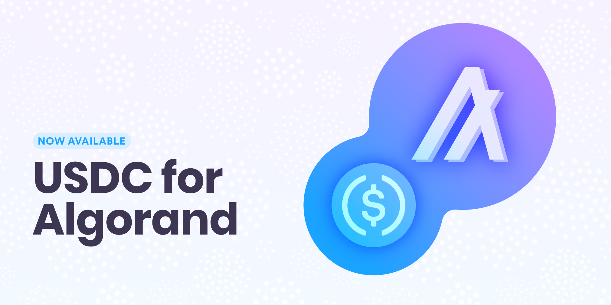 USDC for Algorand now available in your Circle Account